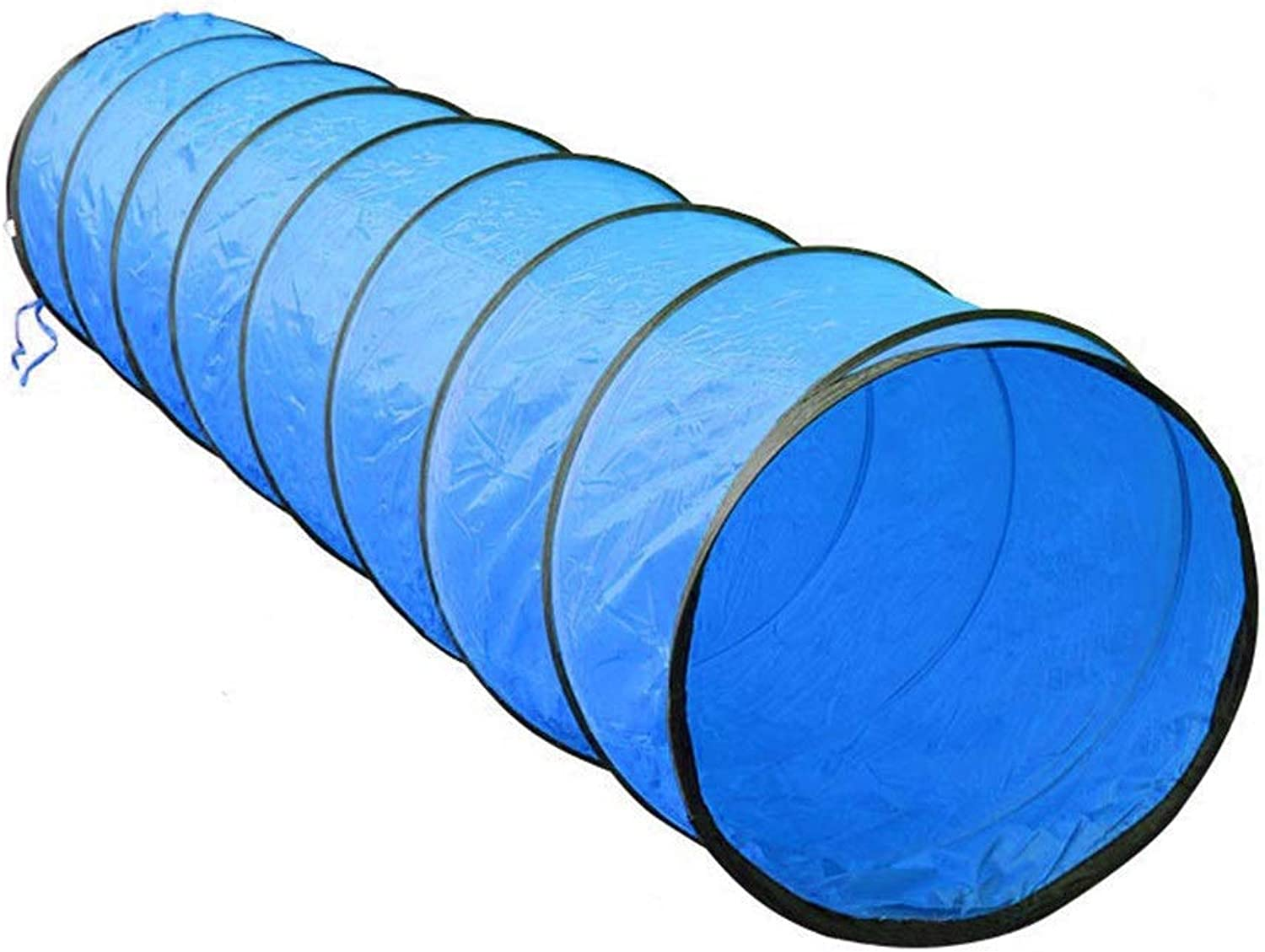 Crawling Play Tunnel, Pop-up Toy Tent, Tube Games Toy Indoor Outdoor for Kids Baby Toddler by (color   bluee)