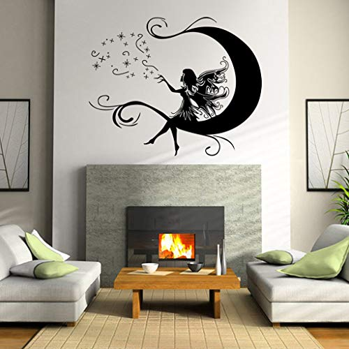 Zegeey Dekorative Malerei Schlafzimmer Wohnzimmer TV Wanddekoration Wandaufkleber Wandbild Dekor