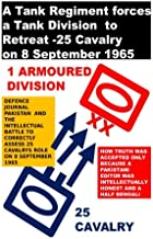 A Tank Regiment forces a Tank Division to Retreat -25 Cavalry on 8 September 1965