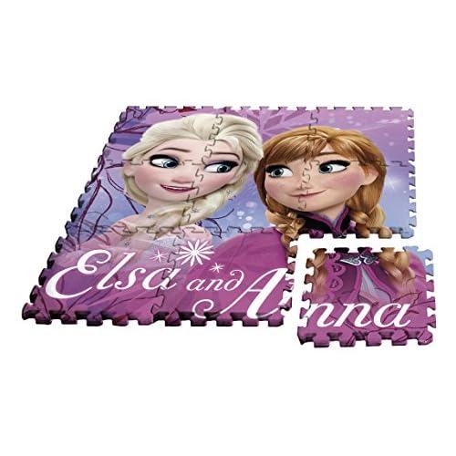 Kids Licensing–Un Tappetino in Schiuma Frozen in Formato Puzzle, wd17627
