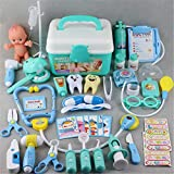 Xiangrun Doctor Toy, 44 Piezas/Set Juego de Roles para niñas Juego médico Medicina Simulación Dentista Juguete de simulación