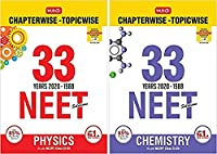 Combo of MTG Editorial Board's NEET-AIPMT 33 Years in Physics & Chemistry