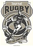 Rugby Journal: Writing Journal Lined, Notebook for Men & Women, 100 pages, 7 x 10 in.