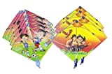 Kite cheel patang rocket traditional pack of 20 size 12 inches by 12 inches with assorted cartoon characters WHAT YOU SEE IS WHAT YOU GET: We strive to make our colors as accurate as possible. Due to monitor settings, monitor pixel definitions, we ca...