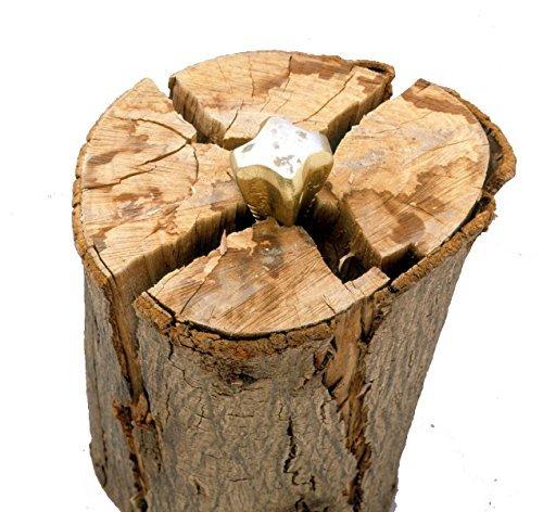 Garden Mile Schwerlast 1.5kg kg Holz Granate Holzspalter Diamantförmig 4 sided Holz Spaltkeil