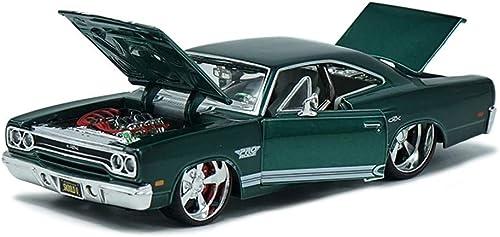 Ahorre 35% - 70% de descuento YaPin Model Car 1 24 Plymouth GTX Modelo de de de Coche Aleación de Simulación Modelo de Coche Deportivo Original Modelo de Coche de Metal Adornos 20x10x8CM Modelo de Coche  muchas sorpresas