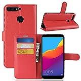 Venga amigos Custodia per Huawei Honor 7A,Enjoy 8E, Frlife Custodia Portafoglio in pu Pell...