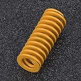 Buona rigidità Acciaio ID 5mm 2 pezzi Molla filo piatto giallo Stampo Molla per stampi per stampi per stampi per pressofusione(TF10*25mm)