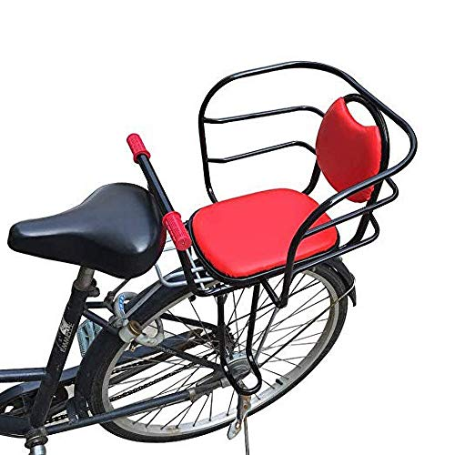 Travel Pillows Bicycle Child Seat, Bicycle Rear Safety Seat Cushion, Detachable Non-Slip Armrests and Footrests, Suitable for Safety Protection Seats for Children from 2 to 6 Years Old