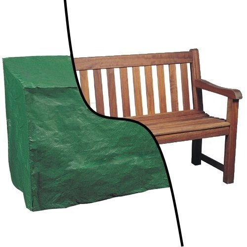 Oypla Waterproof 4ft 1.2m Garden Furniture 2 Seater Bench Seat Cover