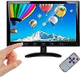 10,1 pollici HD monitor LED piccolo LCD con HDMI/VGA/AV porta monitor estendibile monitor e altoparlante integrato per DVR/PC/DVD/casa ufficio, sicurezza sorveglianza PS3 PS4 Raspberry Pi