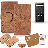 K-S-Trade 360° Cover cork Case for Blackberry KEYone