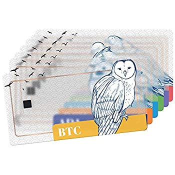 Tangem Hardware Wallet Bundle of 7 Cards - Best Crypto Gift - Easy to use Wallets for Everyone - BTC ETH XRP XLM ADA BCH XTZ