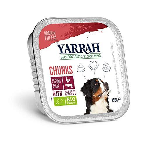Yarrah - BARQUETTE Chien Poulet Boeuf 150 G