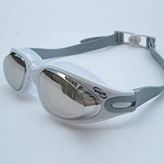 e583aa3aee7 HSXHSMY Gafas de natación Unisex para Adultos, sin Fugas, antivaho, a  Prueba de