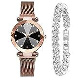 Obestseller Mode Silber Armband Multi-Edge Dial Damen Quarzuhr Geschenkset Mode Silber Armband Polygonal Dial Lady Quarzuhr Geschenkset