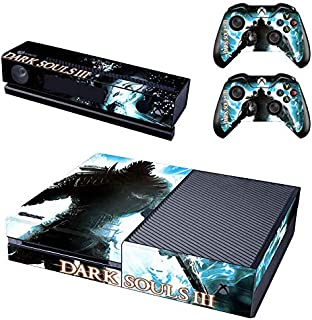 Xbox One Skin Set - Dark Souls 3 HD Printing Skin Cover Protective for Xbox One Console, Kinect & 2 Controller by Mr Wonderful Skin