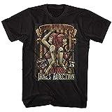 Janes Addiction Herren T-Shirt Siamese Twins, Schwarz Gr. S, Schwarz