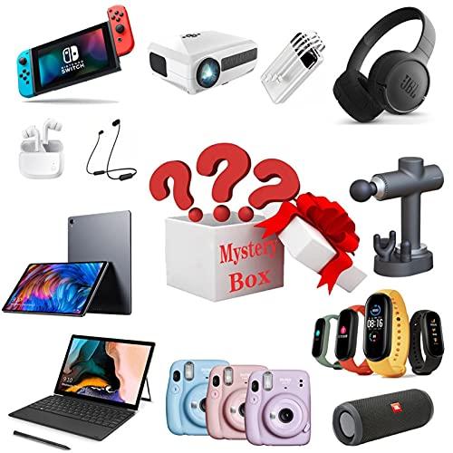 WCCCY Boîte de mystère électronique, Boîte chanceuse Case numérique Case Random Accueil Article Il y a Une Chance d'ouvrir Le téléphone, l'écouteur, la Montre, la Tablette, etc.