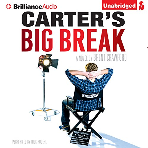 Carter's Big Break audiobook cover art