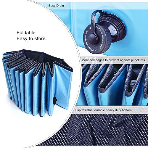 Product Image 3: Jasonwell Foldable Dog Pet Bath Pool