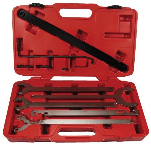 Universal Lüfter Nabenschlüssel Satz Visco-Kupplung - geeignet für viele Fahrzeugtypen wie VAG, GM etc.