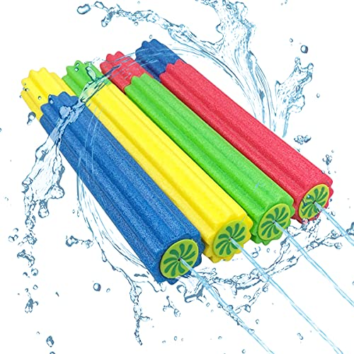 Anditoy 4 Pack Water Guns Super Squirt Guns Water Soaker Blaster Toys for Kids Boys Girls Summer Beach Pool Outdoor Play