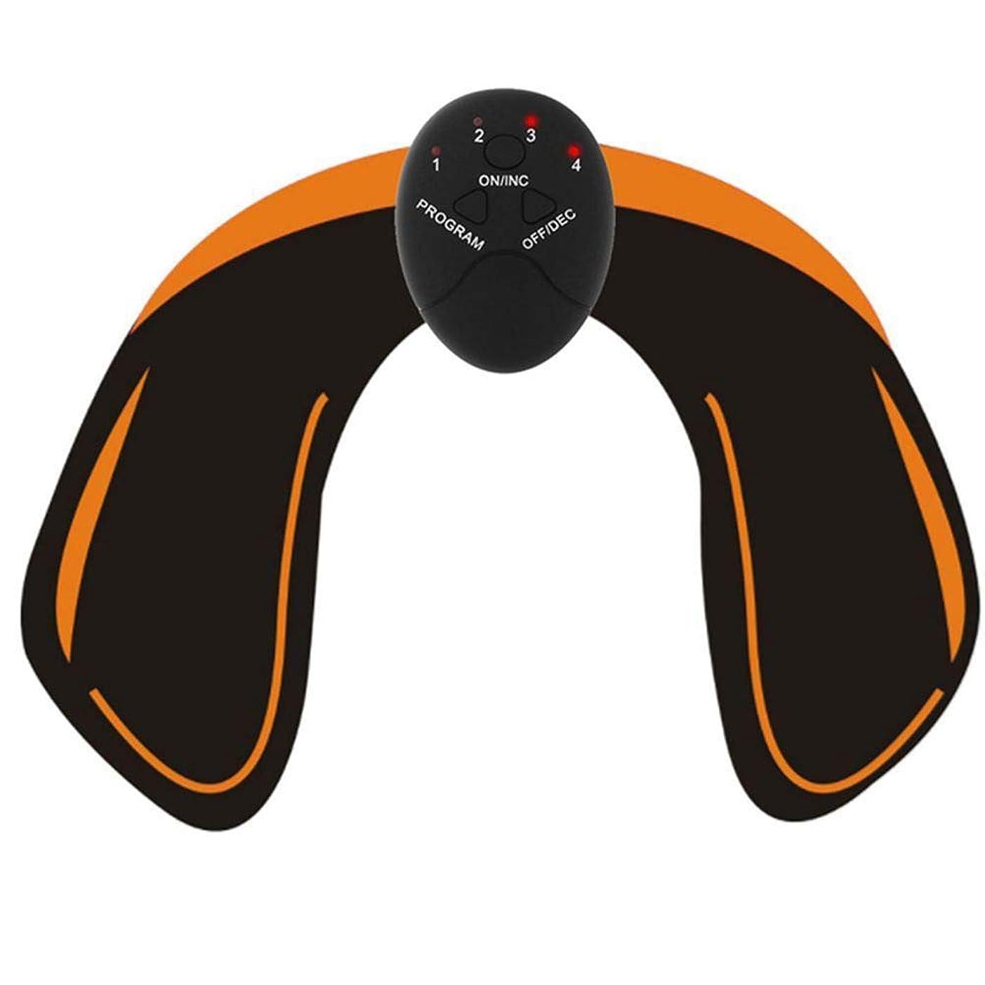 チャールズキージングスキップ保持するヒップEMS筋肉刺激装置、電子裏面筋肉トナー、スマートウェアラブル臀部トナートレーナー用男性女性