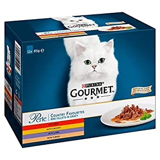 Gourmet Perle Cat Food Country Favourites, 12 x 85g 3