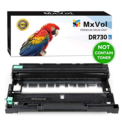 MxVol Compatible Brother DR730 DR-730 Drum Unit, Yields Up to 12,000 Pages, use for Brother HL-L2350DW HL-L2395DW MFC-L2710DW DCP-L2550DW Printer