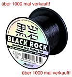 ROBINSON® BLACK ROCK Angelschnur monofile Sehne Karpfen - 7 Stärken, Schnurstärken:600m / 0.400mm...