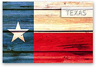 TEXAS FLAG postcard set of 20 identical postcards. TX state flag post cards. Made in USA.