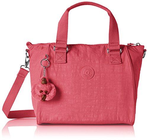 Kipling Amiel, Bolso bandolera para Mujer, Rosa (City Pink) 27x24.5x14.5 cm