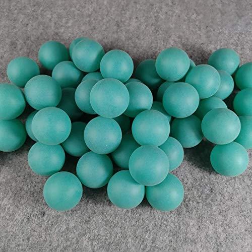BIGTREE 50 Stück Hunde Hunde Spielzeug Tischtennisbälle Tischtennisbälle Dekorationen Farbe Handwerk Lotterie Bier Pong Partys Gefälligkeiten Wasserspiele Blau