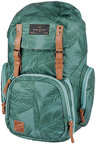 Weekender Alltagsrucksack mit gepolstertem Laptopfach, Schulrucksack, Wanderrucksack inkl. Nassfach, 42 L, Coco