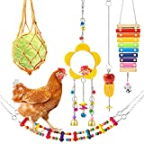 Woiworco 5 Packs Chicken Toys, Chicken Xylophone Toys, Chicken Mirror Toys for...