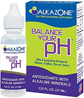 ALKAZONE Balance Your pH (Antioxidants Alkaline Mineral Booster & Supplements) (Single)