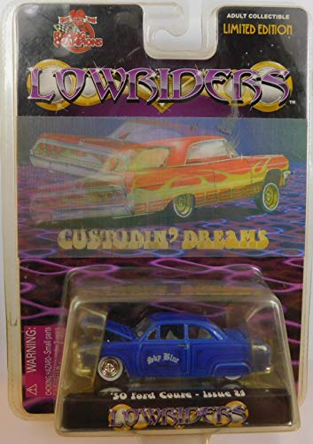Lowriders '50 Ford Coupe Sky Blue Issue 24 1:64 Scale die-cast by Racing Champions