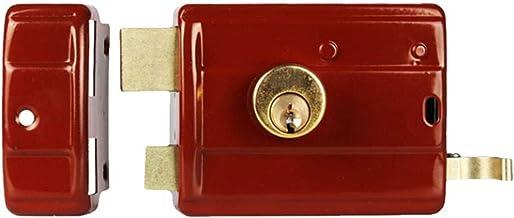 Ouderwetse buitendeursloten, antidiefstalsloten, dubbele veiligheidsdeursloten, koperen slotcilinders-C