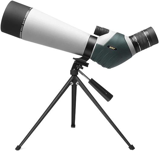 XULONG Monoculaire pour l'extérieur, Vision Nocturne Haute définition pour l'observation des Oiseaux, Zoom monoculaire 20-60x80 rempli d'azote étanche
