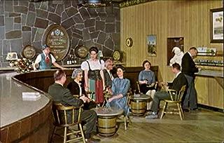 Visitors Sample The Fine Wines Of Italian Swiss Colony Italian Swiss Colony, California Original Vintage Postcard