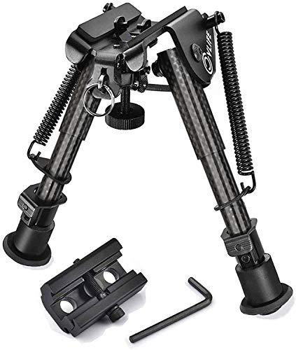 CVLIFE Tactical Rifle Bipod with 20mm Adapter