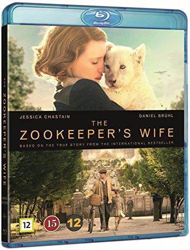 Die Frau des Zoodirektors [Blu-ray Region-free] (German audio) Jessica Chastain (Zookeeper's Wife)