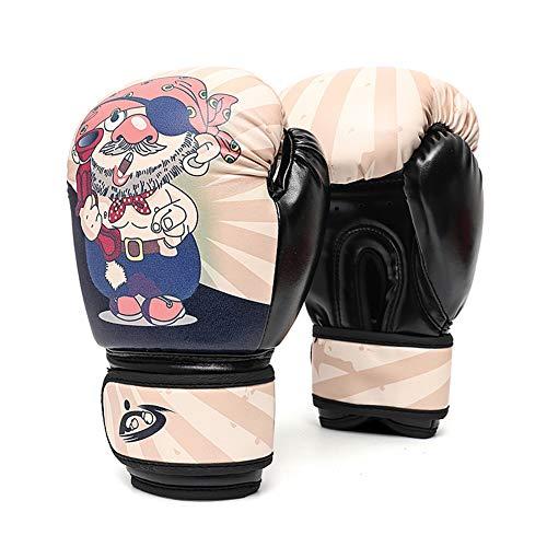 OUTEC Boxhandschuhe 8 Unzen Kinder Boxhandschuhe Pirate Muster MMA Boxsack Trainings Mitts Handschuhe für Stanzen, Sparring, Workout, Schulung