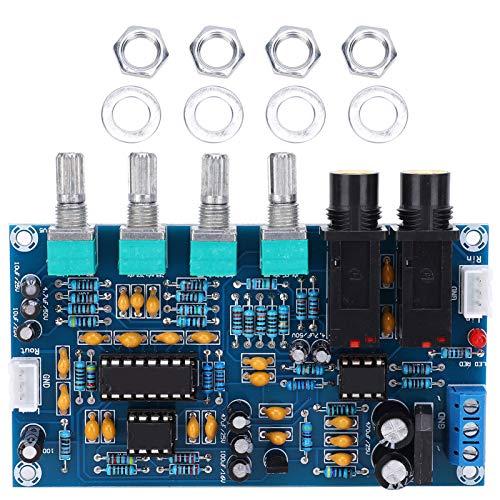 Placa amplificadora de micrófono de 12 V, piezas de audio y vídeo de TV, interfaz estéreo, placa amplificadora XH-M173 XH-M173 para placa amplificadora de 12 V