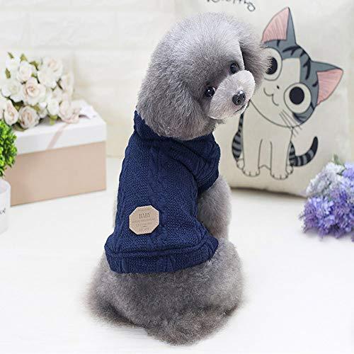Huisdier hond kleding herfst en winter modellen voor kleine en middelgrote honden en kat sport drie-kleuren trui