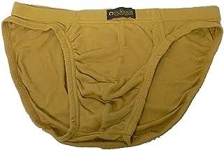 Nukleus 2X Men's Mini Brief Premium 100% Organic Cotton Extra Comfort Plain