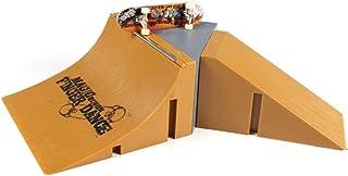 Cgration Lot de 8 rampes de skate Park pour Tech Deck Doigt Mini Skateboard