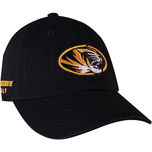 Bridgestone NCAA Golf Hats, Missouri Team Color, One Size