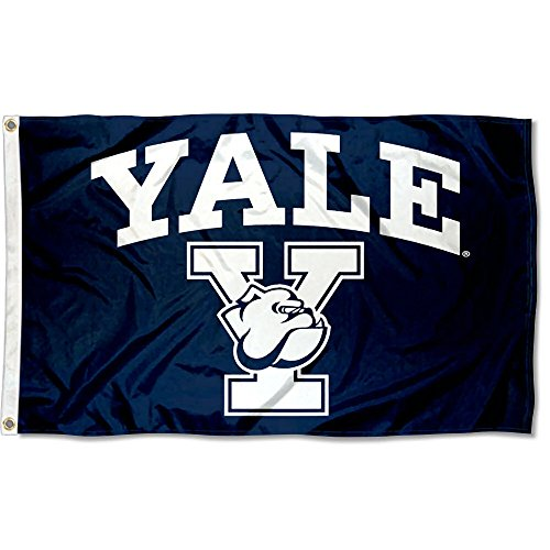 College Flags & Banners Co. Yale Bulldogs Athletic Logo Flag